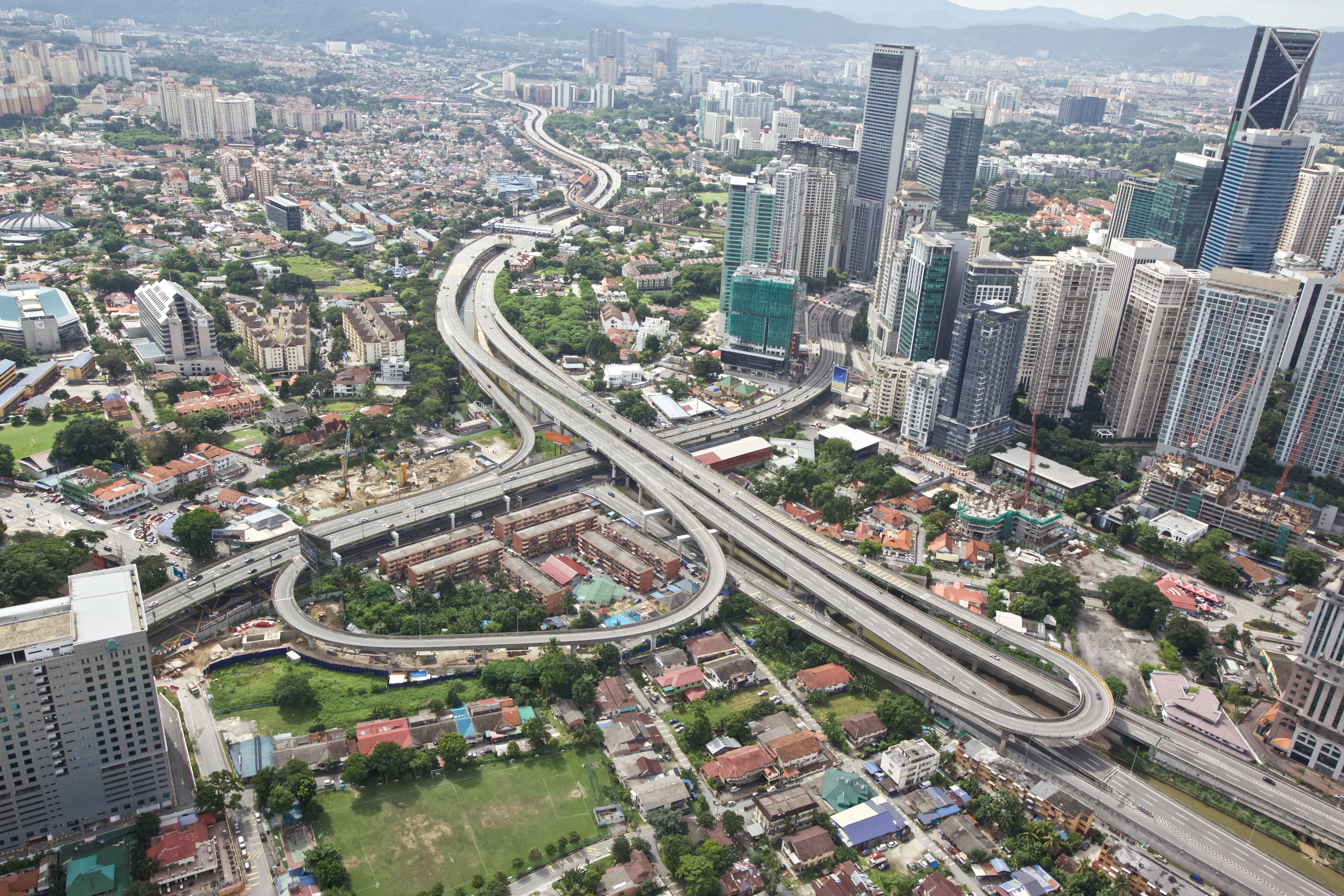 Ampang-Kuala Lumpur Elevated Highway (AKLEH)
