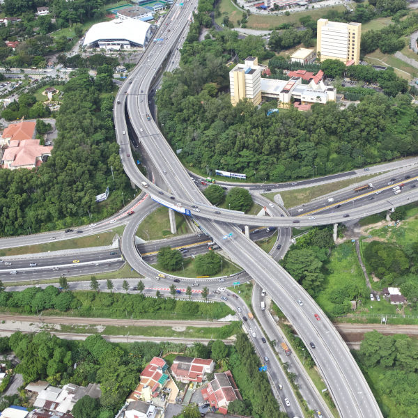 Flyovers Along Jalan Duta, Jalan Kuching & Jalan Segambut