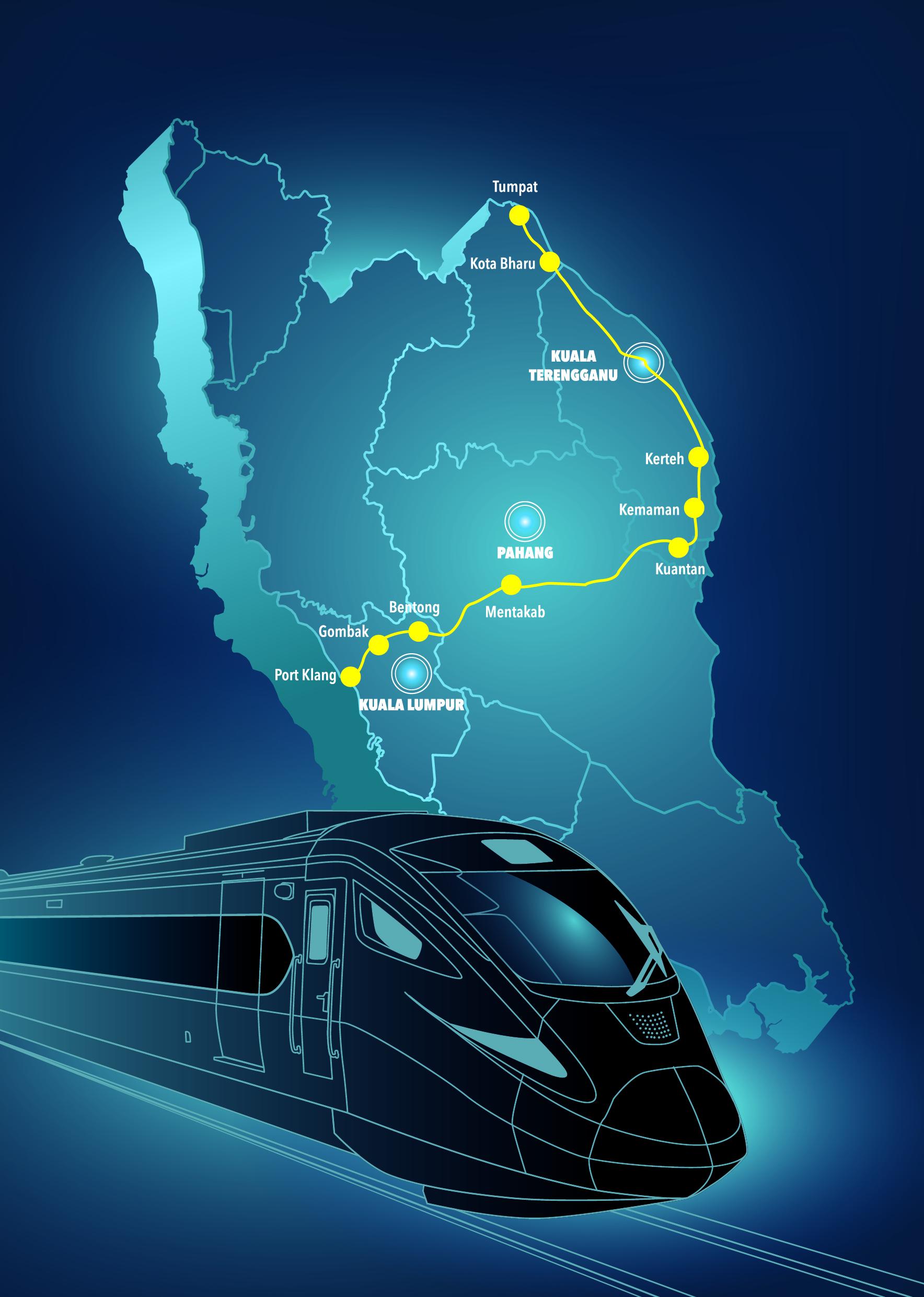 East Coast Rail Link Phase 1